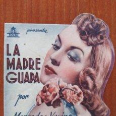 Cine: LA MADRE GUAPA (CON PUBLICIDAD). Lote 286818228