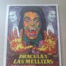 Cine: DRÁCULA Y LAS MELLIZAS. Lote 286867388