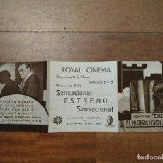 Cine: PTCC 082 EL MISTERO DEL CASTILLO TEROCKY PROGRAMA TRIPLE MATTHIAS WIEMANN. Lote 286895828
