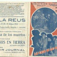Cine: PTCC 075 LA CASA DE LOS MUERTOS PROGRAMA DOBLE ART FILM HOWARD PHILLIPS PRESTON FOSTER. Lote 286909668