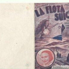Cine: PTCC 075 LA FLOTA SUICIDA PROGRAMA DOBLE CINNAMOND WILLIAM BOYD ROBERT ARMSTRONG GINGER ROGERS. Lote 286912373