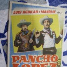 Folhetos de mão de filmes antigos de cinema: F480 PROGRAMA DE MANO ORIGINAL EL DE LA FOTO. Lote 286925218