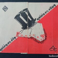 Folhetos de mão de filmes antigos de cinema: ÉL... ES ELLA, MEG LEMMONIER. Lote 286941103
