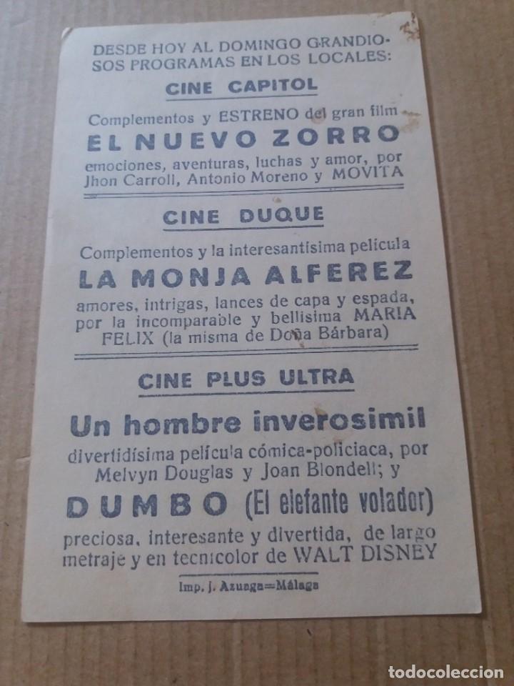 Cine: Dumbo con Publicidad Cine Plus Ultra Málaga - Foto 2 - 286950893