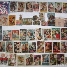 Folhetos de mão de filmes antigos de cinema: 50 PROGRAMAS SURTIDOS. LOTE Nº S-102 (29 CON IMPRESIÓN EN EL REVERSO).. Lote 287107643