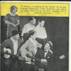 Cine: PTCC 075 LA BARRA MENDOCINA PROGRAMA TRIPLE INTERNACIONAL FILMS MARIO SOFFICI CINE ARGENTINO. Lote 287181913