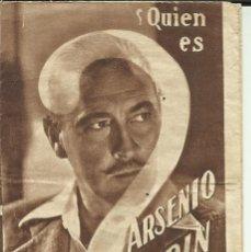 Cine: PTCC 076 ARSENIO LUPIN PROGRAMA DOBLE DESPLEGABLE MGM JOHN BARRYMORE LIONEL BARRYMORE. Lote 287182163