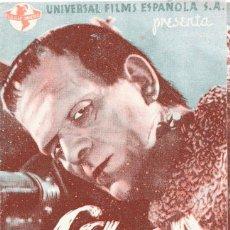 Cine: M167 LA SOMBRA DE FRANKENSTEIN: BORIS KARLOFF -PROGRAMA DOBLE 1940'S. Lote 287362173