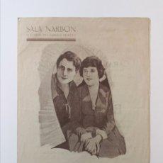 Cine: LA CARAVANA DE OREGÓN (1923). DOBLE SALA NARBÓN. Lote 287384678