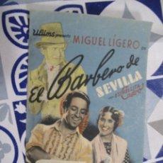 Folhetos de mão de filmes antigos de cinema: F664PROGRAMA DE MANO ORIGINAL EL DE LA FOTO. Lote 287452193