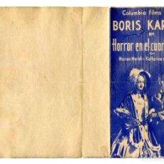 Cine: HORROR EN EL CUARTO NEGRO, CON BORIS KARLOFF.. Lote 287486728