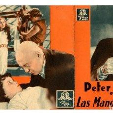 Cine: LAS MANOS DE ORLAC, CON PETER LORRE.. Lote 287576793