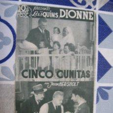 Cine: F768 PROGRAMA DE MANO ORIGINAL EL DE LA FOTO. Lote 287579793