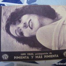 Folhetos de mão de filmes antigos de cinema: F801 PROGRAMA DE MANO ORIGINAL EL DE LA FOTO. Lote 287626123