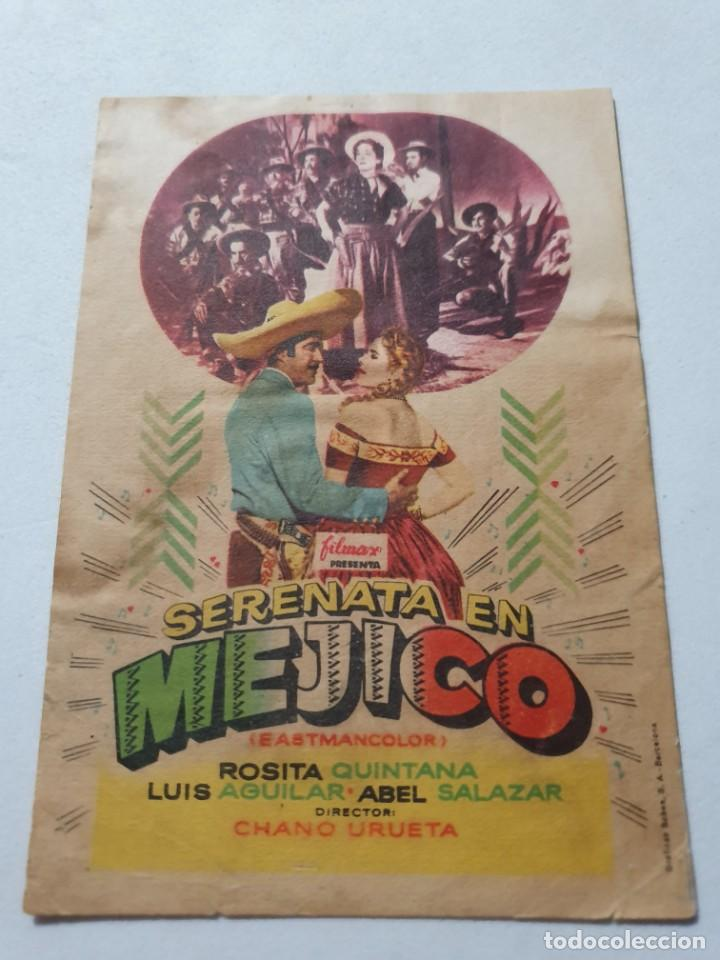 PROGRAMA DE CINE CON PUBLICIDAD DE EPOCA ESTADO NORMAL MAS ARTICULOS (Cine - Folletos de Mano - Musicales)