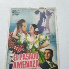 Cine: PROGRAMA DE CINE CON PUBLICIDAD DE EPOCA ESTADO NORMAL MAS ARTICULOS. Lote 287629588