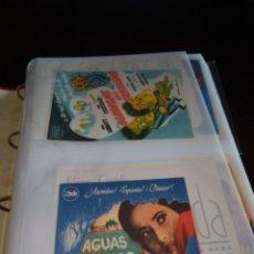 Folhetos de mão de filmes antigos de cinema: GRAN LOTE DE MAS DE 1300 PROGRAMAS DE MANO DISTINTOS EN 5 ÁLBUMES ( VER FOTOS DE TODO). Lote 287658283