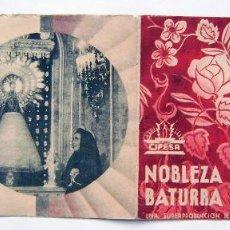 Folhetos de mão de filmes antigos de cinema: NOBLEZA BATURRA, CON IMPERIO ARGENTINA.. Lote 287667518