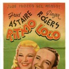 Cine: RITMO LOCO,CON FRED ASTAIRE.. Lote 287704718