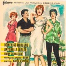 Cine: PAPA SE QUIERE CASAR CON DOMENICO MODUGNO. Lote 287773838