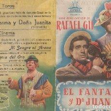 Cine: PROGRAMA DOBLE DE CINE. EL FANTASMA Y DOÑA JUANITA. PC-4864. Lote 287782433