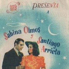 Cine: PROGRAMA DOBLE DE CINE. HISTORIA DE UNA NOCHE. PC-4866. Lote 287783278