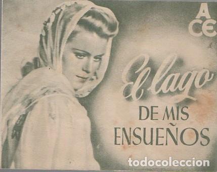 PROGRAMA DOBLE DE CINE. EL LAGO DE MIS ENSUEÑOS. PC-4869 (Cine - Folletos de Mano - Comedia)