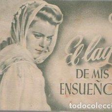 Cine: PROGRAMA DOBLE DE CINE. EL LAGO DE MIS ENSUEÑOS. PC-4869. Lote 287784588