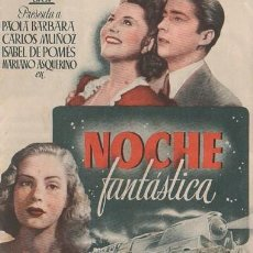 Cine: PROGRAMA DOBLE DE CINE. NOCHE FANTÁSTICA. PC-4874. Lote 287786598