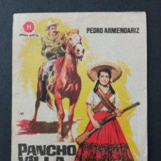 Cine: PANCHO VILLA Y LA ADELITA, PEDRO ARMENDARIZ. Lote 287820673