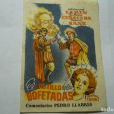 Cine: PROGRAMA PEQUEÑO EL CASTILLO DE LAS BOFETADAS.--ARAJOL. Lote 287960188