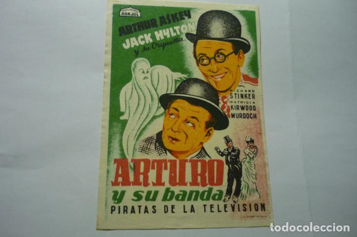 PROGRAMA ARTURO Y SU BANDA -ARAJOL (Cine - Folletos de Mano - Musicales)