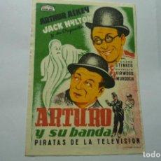 Cine: PROGRAMA ARTURO Y SU BANDA -ARAJOL. Lote 287960298