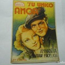 Cine: PROGRAMA SU UNICO AMOR.- ANNABELLA. Lote 287960548