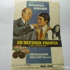 Cine: PRPGRAMA EN DEFENSA PROPIA .-ADAMO. Lote 287960943