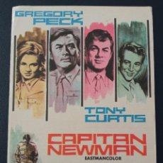 Cine: CAPITAN NEWMAN, GREGORY PECK. Lote 287970483