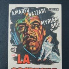 Cine: LA SOSPECHA, AMADEO NAZZARI. Lote 287970638