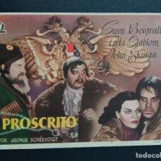 Cine: EL PROSCRITO. Lote 287970658