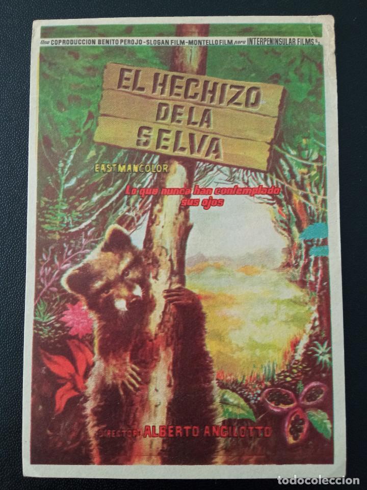 EL HECHIZO DE LA SELVA (Cine - Folletos de Mano - Documentales)