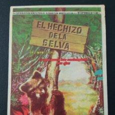 Cine: EL HECHIZO DE LA SELVA. Lote 287972918