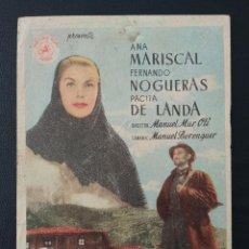 Cine: UN HOMBRE VA POR EL CAMINO, ANA MARISCAL. Lote 287973233