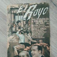 Cine: EL RAYO, MERCEDES PRENDES, CINE CAMPOS ELISEOS. Lote 287977303