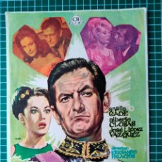 Cine: OPERACIÓN EMBAJADA. CB FILMS. 1963. Lote 287990833