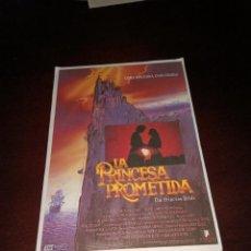 Cine: PROGRAMA DE MANO ORIG - LA PRINCESA PROMETIDA - CON CINE IMPRESO AL DORSO. Lote 288038318