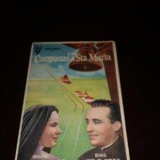 Cine: PROGRAMA DE MANO ORIG- LAS CAMPANAS DE SANTA MARÍA - CON CINE COLISEO IMPRESO AL DORSO. Lote 288041428
