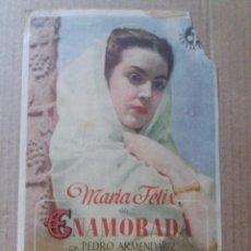 Cine: ENAMORADA CON PUBLICIDAD BORN , CAPITOL Y HISPANIA PALMA. Lote 288072293