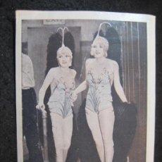 Cine: BROADWAY MELODY-METRO GOLDWYN MAYER-FEMINA-PROGRAMA DE CINE-VER FOTOS-(84.069). Lote 288079753