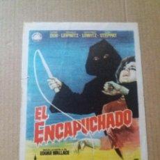 Cine: EL ENCAPUCHADO. Lote 288080208