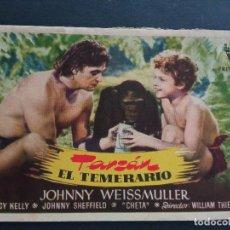 Cine: TARZAN EL TEMERARIO, JOHNNY WEISSMULLER. Lote 288131218