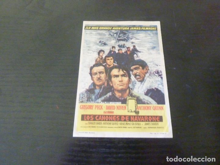 PROGRAMA DE CINE IMPRESO EN LA PARTE TRASERA (Cine - Folletos de Mano - Bélicas)